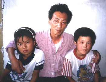 Aug. 2000 -- Chol-hun still bears scars from the third escape from North Korea following their repatriation.