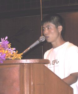 Shin Dong-hyuk describes his youth in a prison camp