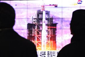 North Korean launches Unha rocket
