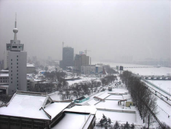 Winter scene in Yanbian