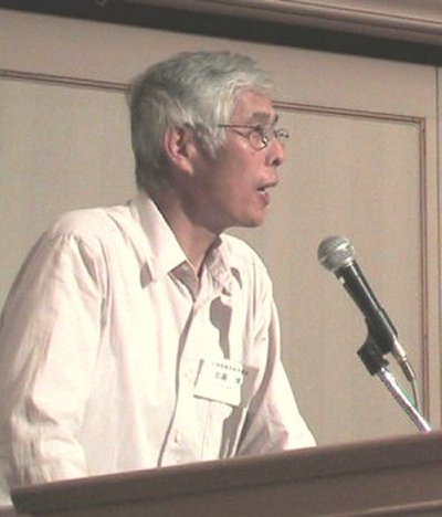 Kato Hiroshi, Secretary-General of LFNKR, served as moderator for the morning NGO session.